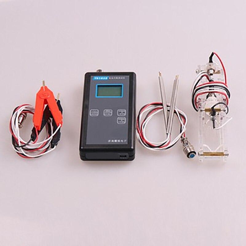 4 line YR1035 high precision lithium battery internal resistance test instrument Ni MH Ni Cd button battery tester Y zb206 v1 3 battery internal resistance tester 18650 mobile power lithium battery test