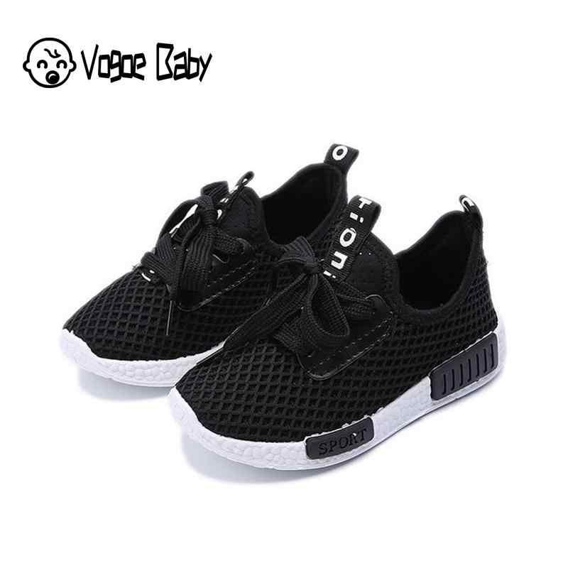 Spring Autumn Kids Shoes Fashion Mesh Casual Children Sneakers For Boy Girl Toddler Baby Breathable Sport Shoe Tenis Infantil 48