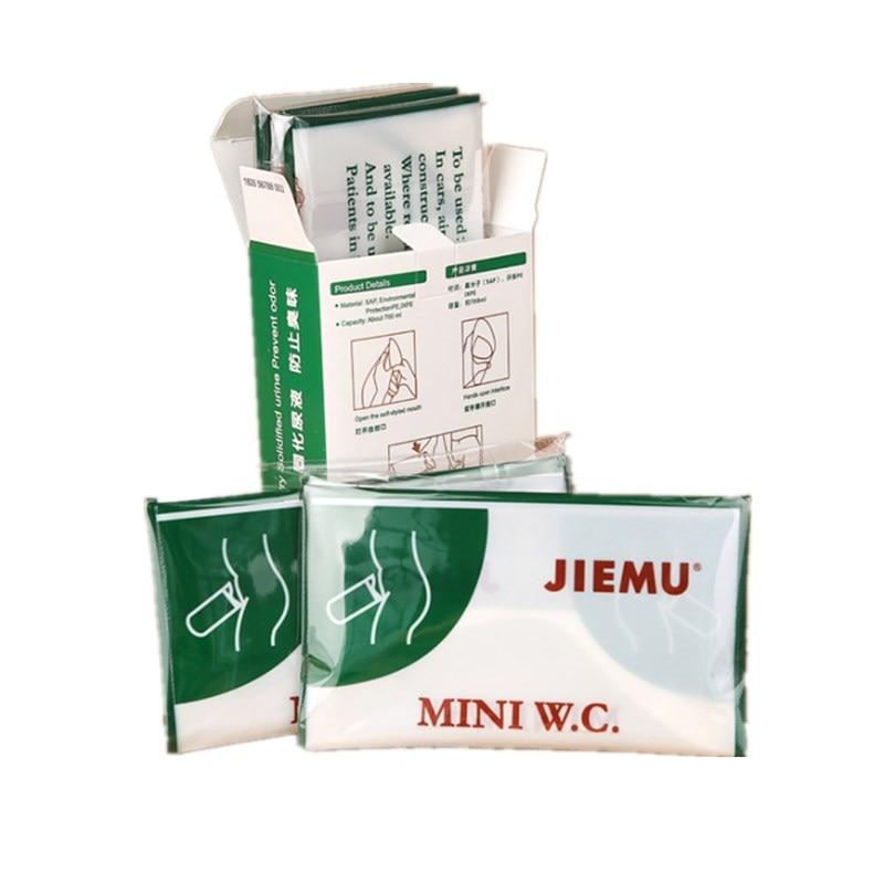 8 Pcs 700ml Emergency Portable Car Urine Bag Vomit Bags Mini Mobile Toilets Handy Unisex Disposable Urinal Toilet Bag
