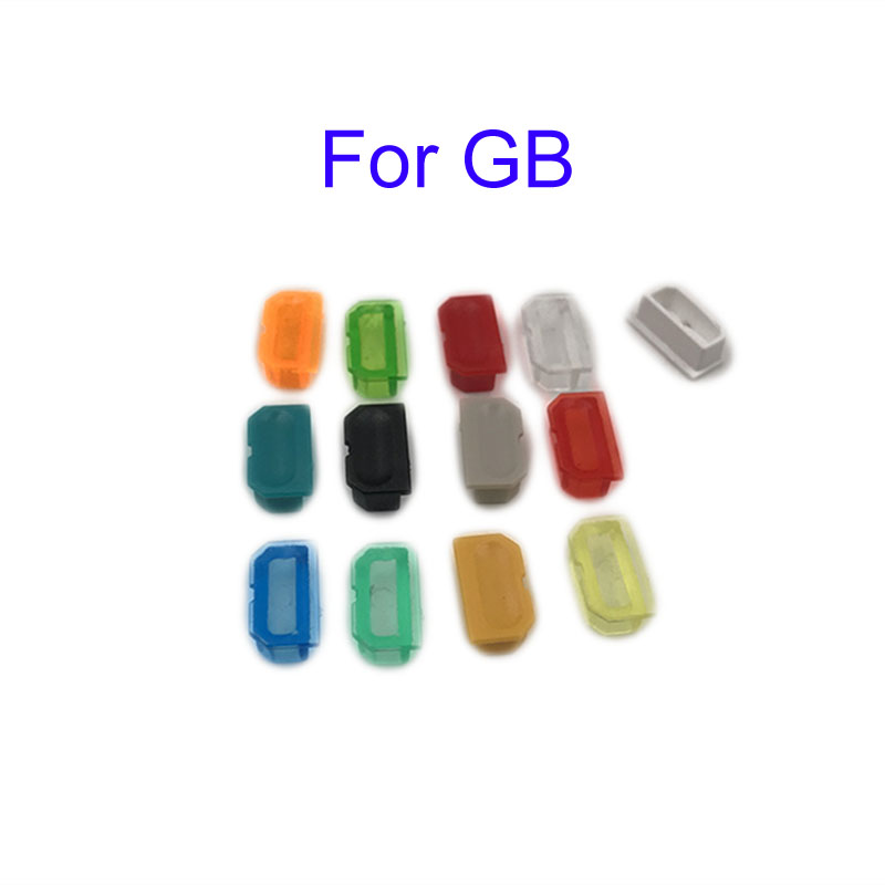Multicolor Dust cover For Game Boy GB game Console shell Dust plug For DMG 001