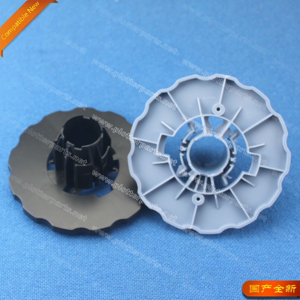 HP DesignJet T610 T770 T790 T1100 T1120 T1200 Z2100 Z3100 Z5200 END cap Spindle hub (Blue+black) Q5669-40730