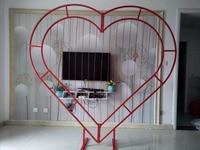 Брак ферма Арка любовь Арка персик ядро железная рама сердце портальная рамка специальный образная рама арка в виде сердца