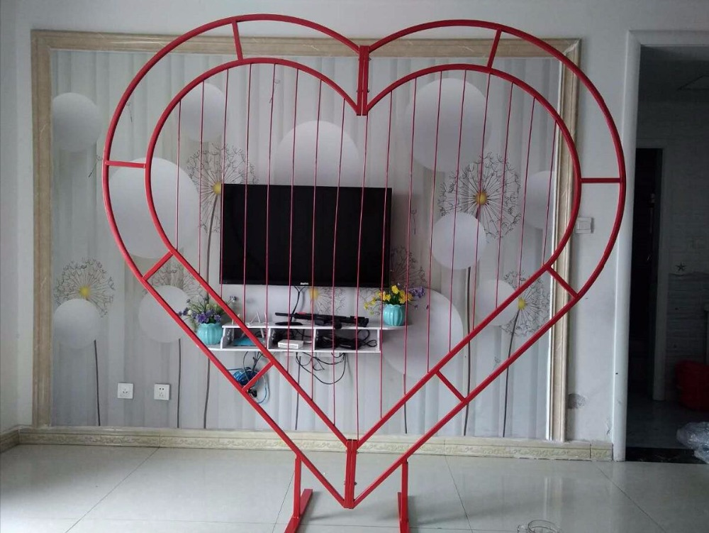 Marriage Truss Arch Love Peach-core Iron Frame Heart Portal Special-shaped