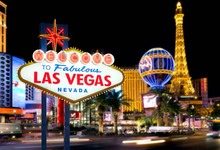 Thin Vinyl Photography Background Night City Welcome To Las Vegas Children Fotografia Backgrounds for Photo Studio