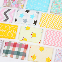 Cotton cloth baby bedding fabric children baby cartoon bed linen quilt twill cotton cloth
