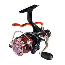 2016 New 6BB 5.2:1 Max Drag 4kg Rear Drag Fishing Reel Spinning Reel Fast Manual Brake CNC Metal Handle Carp Reels