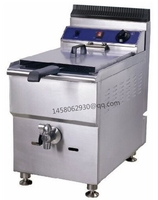 Large capacity deep fryer 18L kitchen equipment LPG gas deep fryer counter top gas fryer