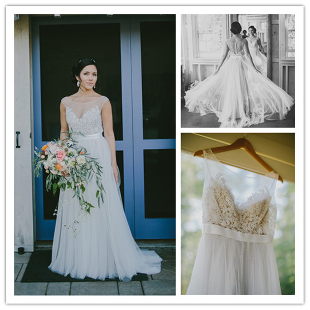 Contemporary Brooke Davis Wedding Dress Composition - All Wedding ...