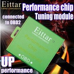 Samochodowe OBDII OBD2 Chip wydajności moduł tuningu Lmprove wydajność spalania oszczędność paliwa akcesoria samochodowe dla Audi 200 2010 +