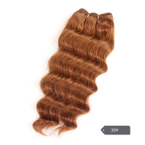 Image 4 - Sleek Nature Hi Deep Hair 1 Piece Only Brazilian Deep Wave Human Hair Weave Bundles Deal #27 99J Burgundy Remy Hair Extension