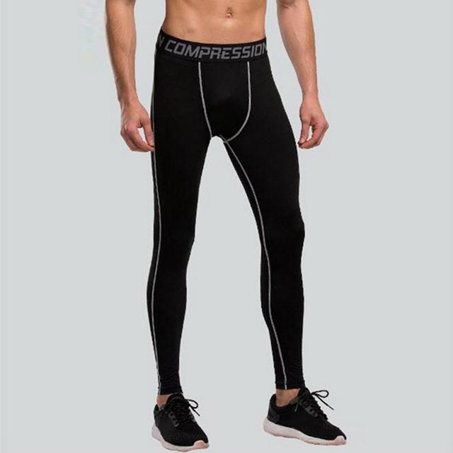 Elastic Sports Tights for Men