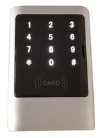 ID RFID Metal reader touch keypad 125K waterproof IP66 anti hit wiegand 26/34 output option min:1pcs