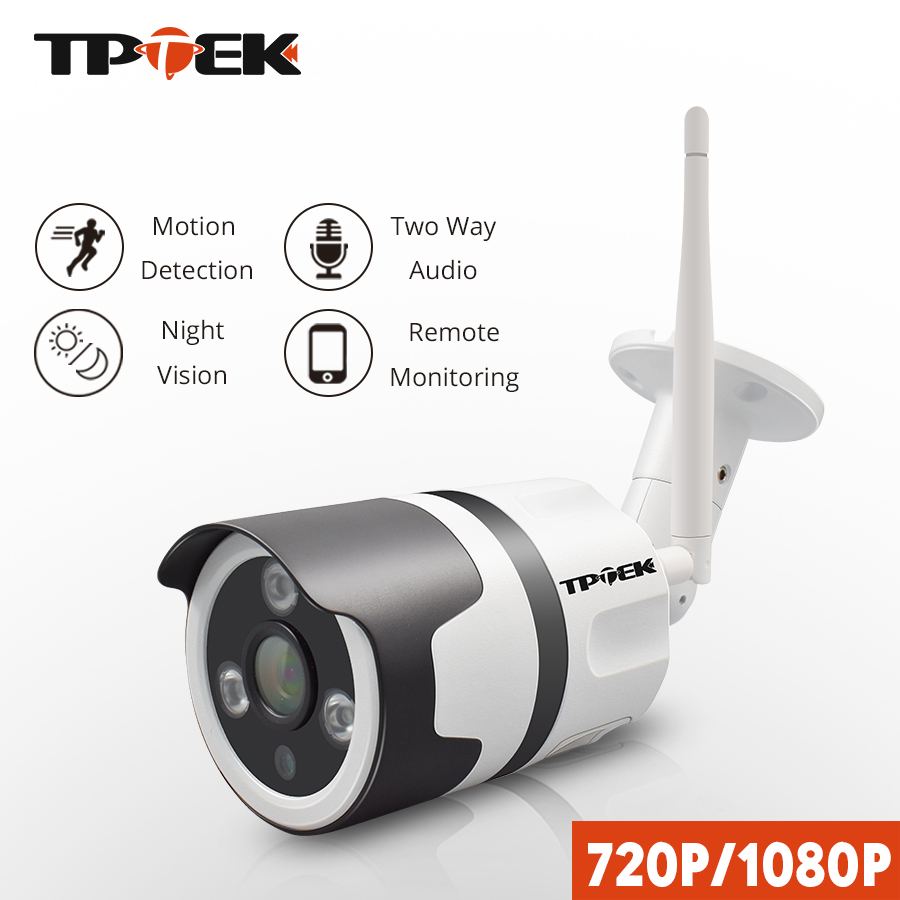 WiFi Outdoor IP Camera Wi-Fi 1080P 720P Wireless Waterproof Security IP Camera 2MP Two Way Audio CCTV Surveillance Bullet Camara wistino 1080p 960p wifi bullet ip camera yoosee outdoor street waterproof cctv wireless network surverillance support onvif