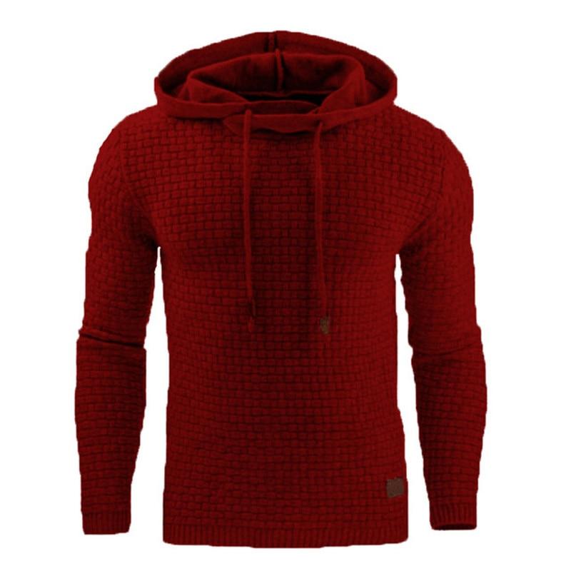 ZOGAA New Casual Hoodie Men'S Hot Sale Plaid Jacquard Hoodies Fashion Military Hoody Style Long-Sleeved Men Sweatshirt 4XL