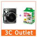 Бесплатная Доставка Fujifilm Мгновенное Мини-Фильм 20 Листов Пленки + Mini50s Камеры Crystal Case