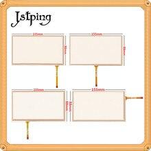 Jstping 5 ピース 6.2 インチ 4 線 4 ピン抵抗タッチスクリーン HSD062IDW1 155*88 ミリメートル 155 ミリメートル * 88 ミリメートルデジタイザ外部パネルガラス