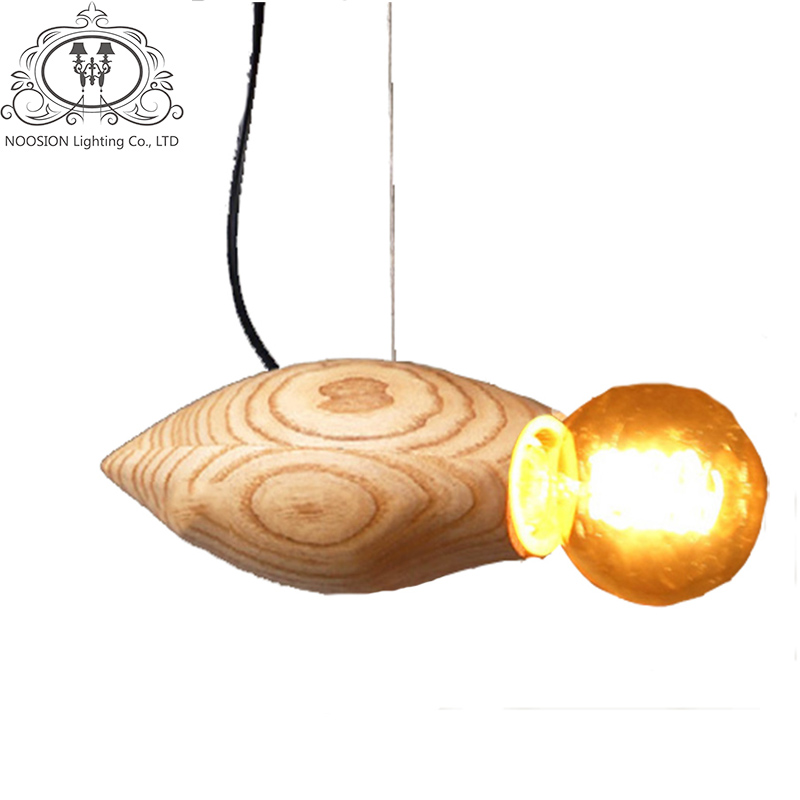 Compare prices on champagne lamp shade online shoppingbuy low noosion wood vintage pendant lights for high luminaire suspendu e27 rope lampen retro hanging l mozeypictures Choice Image