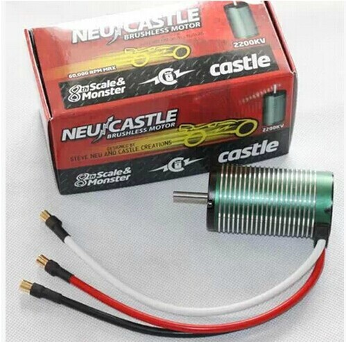 Free shipping Castle Creations Neu-Castle 1515 1Y 1/8 Brushless Motor (2200kV) free shipping Quality assurance violence motor