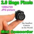 Цифровой Мини-Видеокамеры Micro Портативный HD CMOS 2.0 Мегапикселей Карманный видео Аудио Камеры 480 P DV DVR Рекордер Веб-Камера 720 P JPG