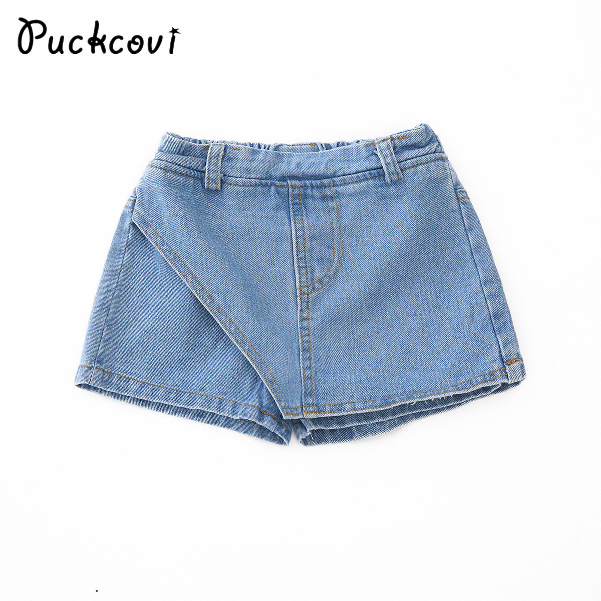 Girls short Jeans Kids sports denim hot pants Summer dress-shorts for Children Fashion Washed Trousers for Girl All Match