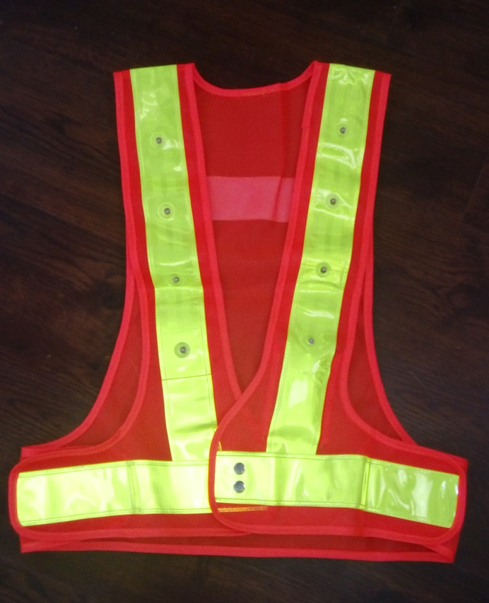 Highways Sanitation LED Reflective  Safety Vest