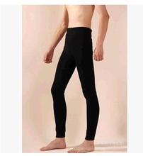 2pcs  Factory Outlet 2017 Leggings Men Warm Pants Thermal Underwear TIght Slim Pants Men Joggers  Hot style