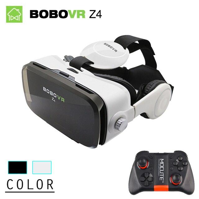 BOBOVR Z4 Мини Виртуальной Реальности очки 3D Очки БОБО VR коробка 2.0 с Гарнитурой google cardborad для 4.7-6.0 дюймов смартфоны