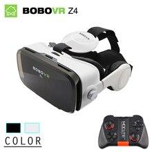 Bobovr z4/z4 mini gafas de realidad virtual 3d vidrios bobo caja 2.0 con auriculares vr google cardborad para 4.7-6.0 pulgadas smartphones