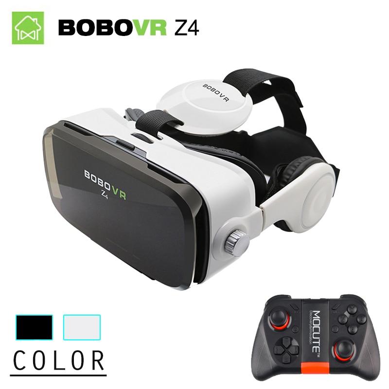 BOBOVR Z4 <font><b>Mini</b></font> Virtual Reality goggles 3D <font><b>Glasses</b></font> BOBO <font><b>VR</b></font> box 2.0 with Headset google cardborad for 4.7-6.0 inch smartphones