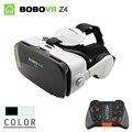 Bobovr z4 mini caixa de óculos de realidade virtual óculos 3d vr bobo 2.0 com headset google para cardborad 4.7-6.0 polegada smartphones