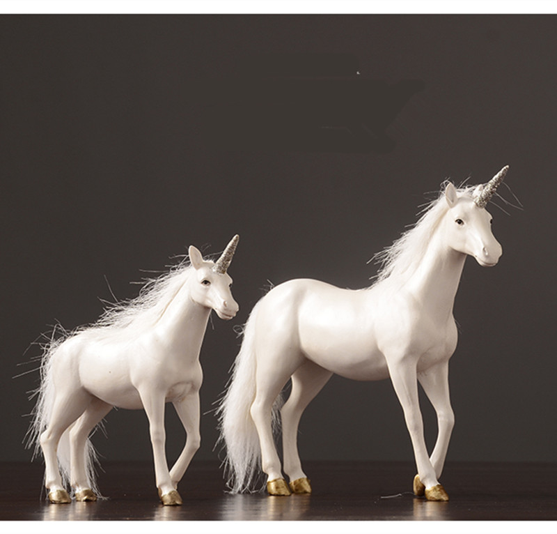 Nordic contemporary contracted household adornment decorates Europe type unicorn to do old handicraft sitting room office horseNordic contemporary contracted household adornment decorates Europe type unicorn to do old handicraft sitting room office horse