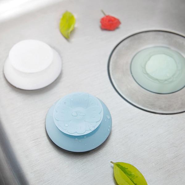 Rubber Circle Silicone Floor Drain Hair Stopper Bathtub Plug Bathroom Kitchen Basin Stopper Sink Strainer Basin Water Stopper все цены