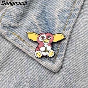Image 5 - 30pcs/lot Wholesale DMLSKY Animal Pins Metal Badge Cartoon Kawaii Pins Icon on The Backpack Pin for Clothing M2587