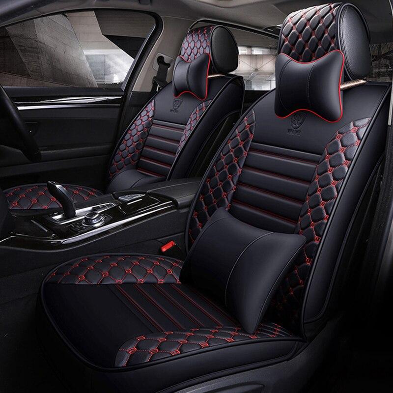 Wenbinge Special Leather Car Seat Covers For Vw Golf 4 5 6 VOLKSWAGEN Polo Sedan 6r 9n Passat B5 B6 B7 Arteon Car Accessories