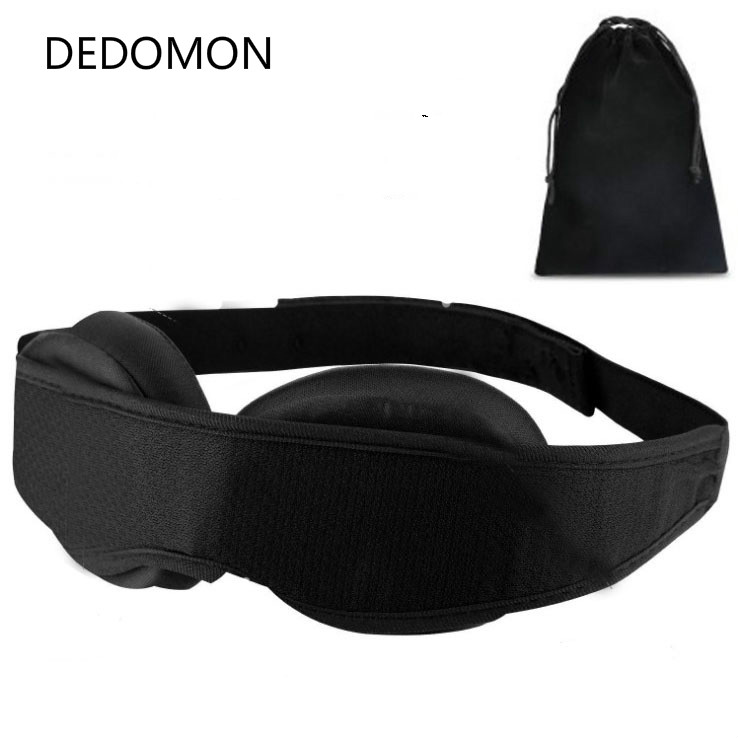 Modular Adjustable 3D Breathable Travel Rest Sleeping Napkins Eye Mask Sleeping Artifact Eye Mask Eye Care Tools Black