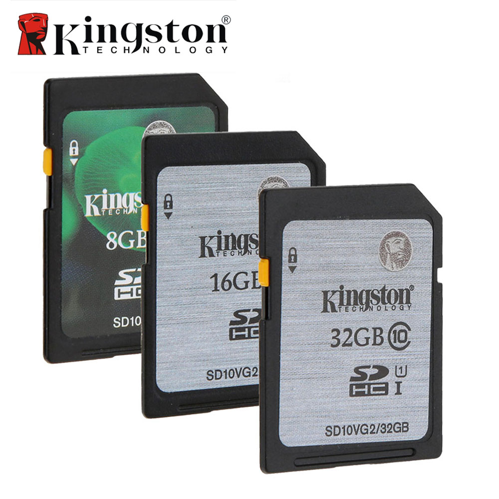 kingston memory card 8gb 16gb 32gb sd hc xc sdhc sdxc uhs i hd video class 10 cartao de memoria. Black Bedroom Furniture Sets. Home Design Ideas