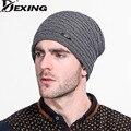 [Dexing]2016 Winter Beanies Knit Men's Winter Hat Caps Skullies Bonnet Winter Hats Beanie Fur Warm Baggy Wool Knitted Hat