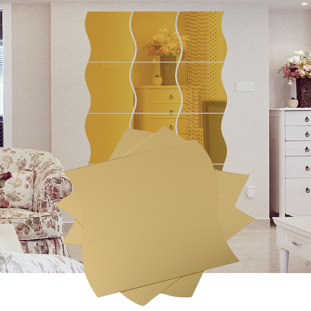 Fantastic Colorful Wall Mirror Sketch - The Wall Art Decorations ...