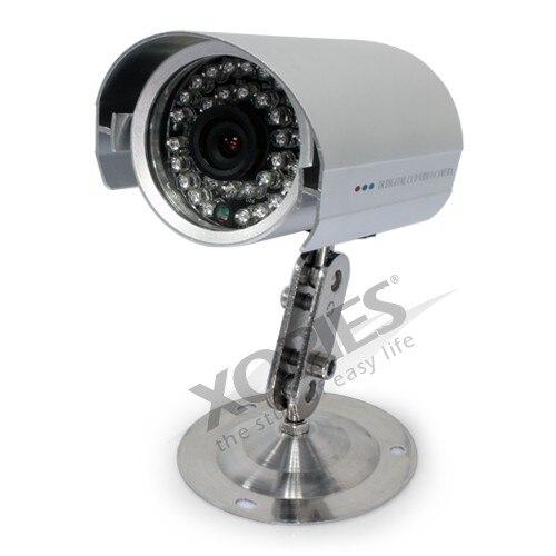 HOMSECUR 9 LCD IR puerta timbre del teléfono sistema de seguridad del hogar + 1 cámara CCTV para monitorizar - 6