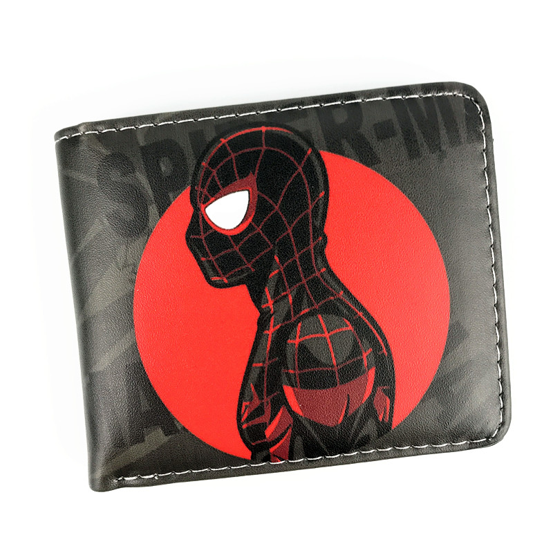 New Arrival Spider-Man Homecoming Short Purse Marvel Wallet Gravity Falls Overwatch Coin Purse цены