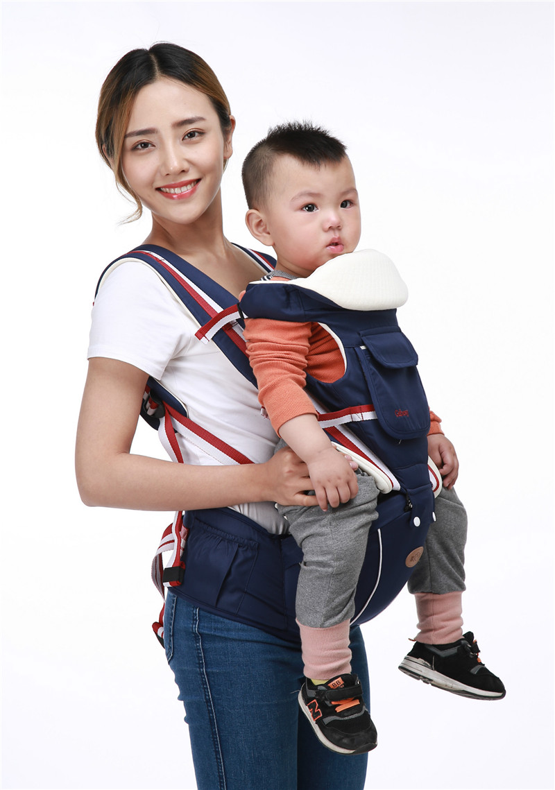 Baby 4 Seasons Strap Children\'s Waist and Breathable Multi-function Carrier Mother & Kids Activity & Gear Backpacks & Carriers 17