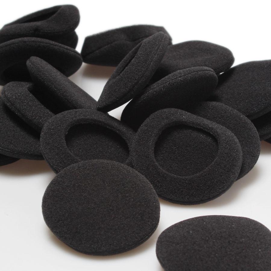 10Pcs/Lot Black Diameter 5cm Foam Ear pads Earpads Cover Cushion Sponge Covers Replacement Ear Cup For Earphone MP3 MP4 все цены