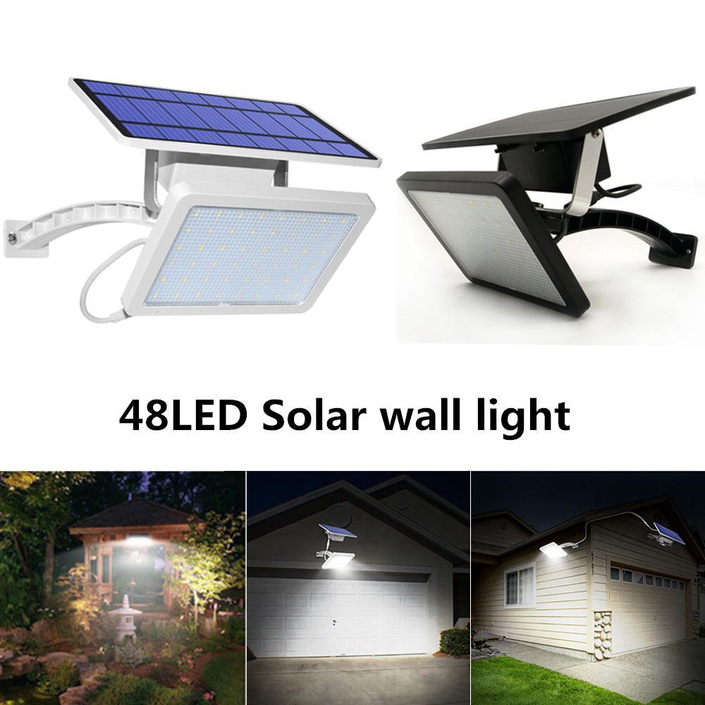 hobbylane 48 diodo emissor de luz solar 02