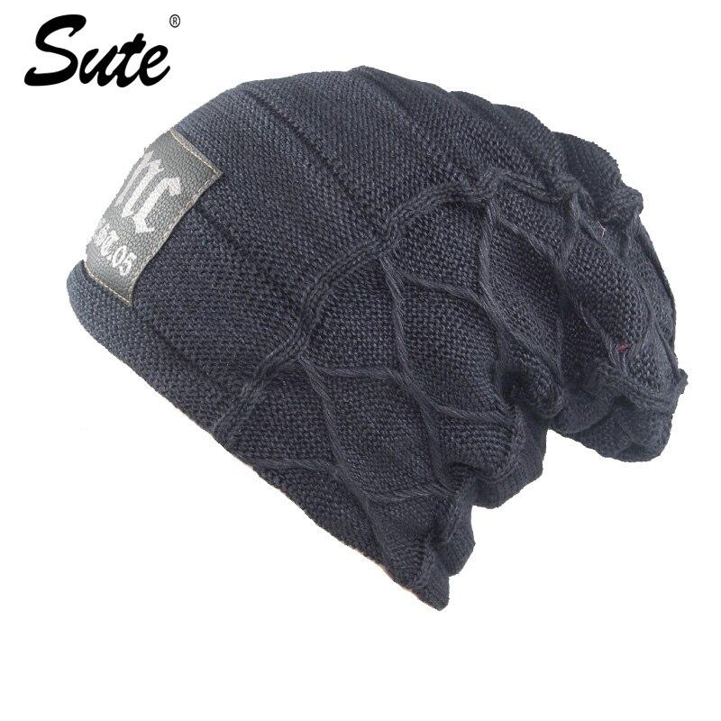 웃 유Sute elegante sombrero invierno y otoño sombreros hechos punto ...