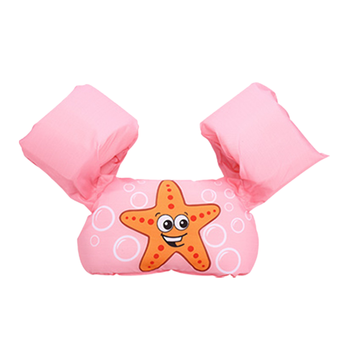 Baby Inflatable Swimming Arm Bands Floatation Sleeves Water Wings - Pink