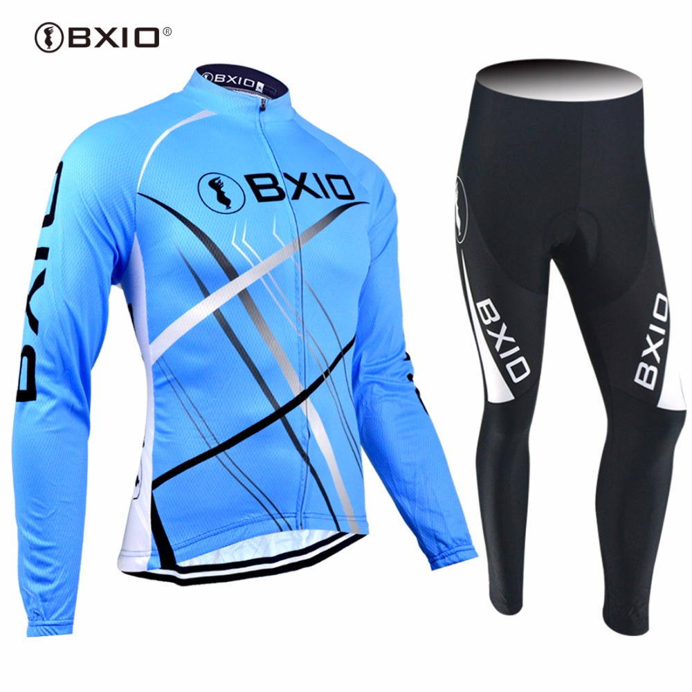 2017 New Arrival Bxio Cycling Jersey Long Sleeves  Bicycle Clothes Ropa Ciclismo Hombre Pro Team Mountain Bicycle Jerseys 047 live team cycling jerseys suit a001