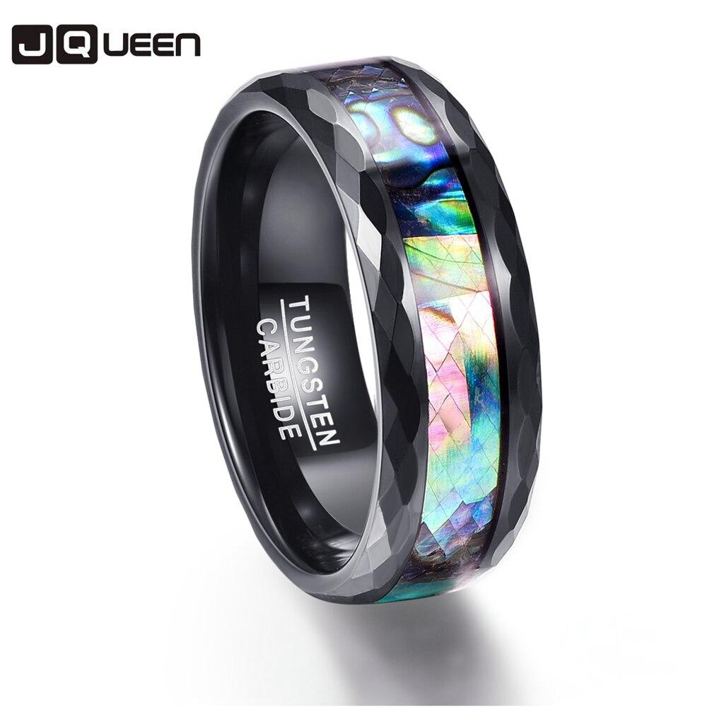 Многогранный полировки обещание группа Для мужчин Кольца 100% Вольфрам карбида Обручальные кольца разного размера anillos Para Hombres pierscienie