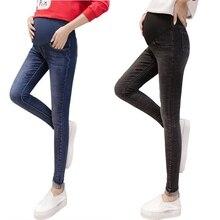 New Maternity jeans cotton elastic waist jeans for pregnant tight skinny pregnant women pantalon embarazada pregnancy clothes недорго, оригинальная цена