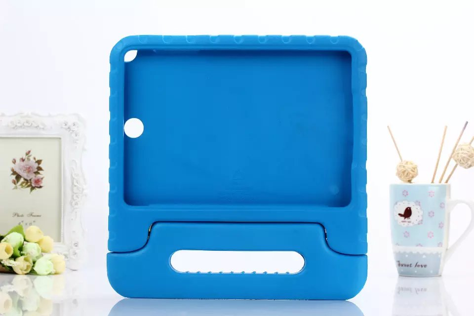 Case For Samsung Tab A 8.0 T350 T355 Cover Kids Children Safe Rugged Proof Foam Handle Stand Thick EVA Foam Kids Shockproof