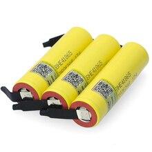 Liitokala batería li lon de 2500mAh para Lii HE4, batería recargable de 18650 V, batería de litio de 3,7 mAh con hoja de níquel de DIY